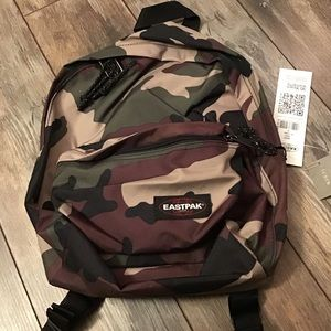 Eastpak brand new w/tags camouflage backpack